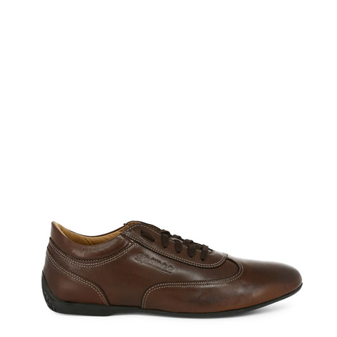 Sparco Imola GP Brown Leather Sneakers