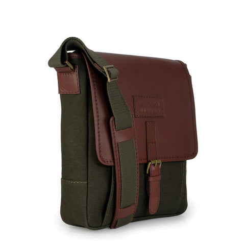 Phive Rivers | Green Messenger Bag