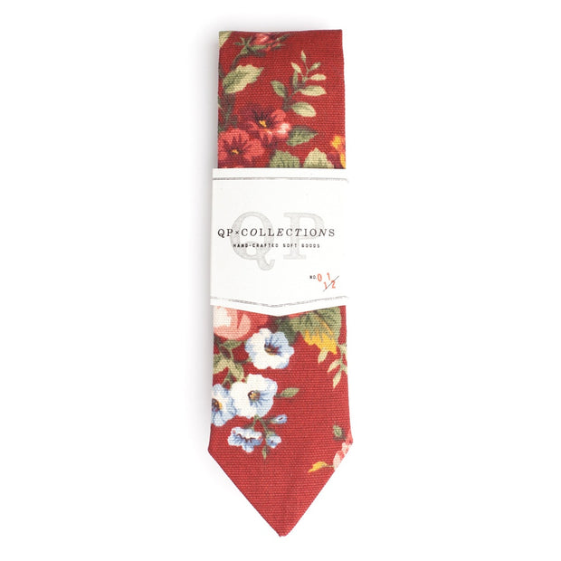 QP Collections | Floral Rouge Tie