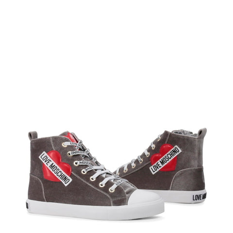 Love Moschino | Gray Sneakers