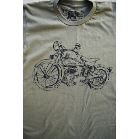 1929 Indian Motorcycle | Army T Shirt