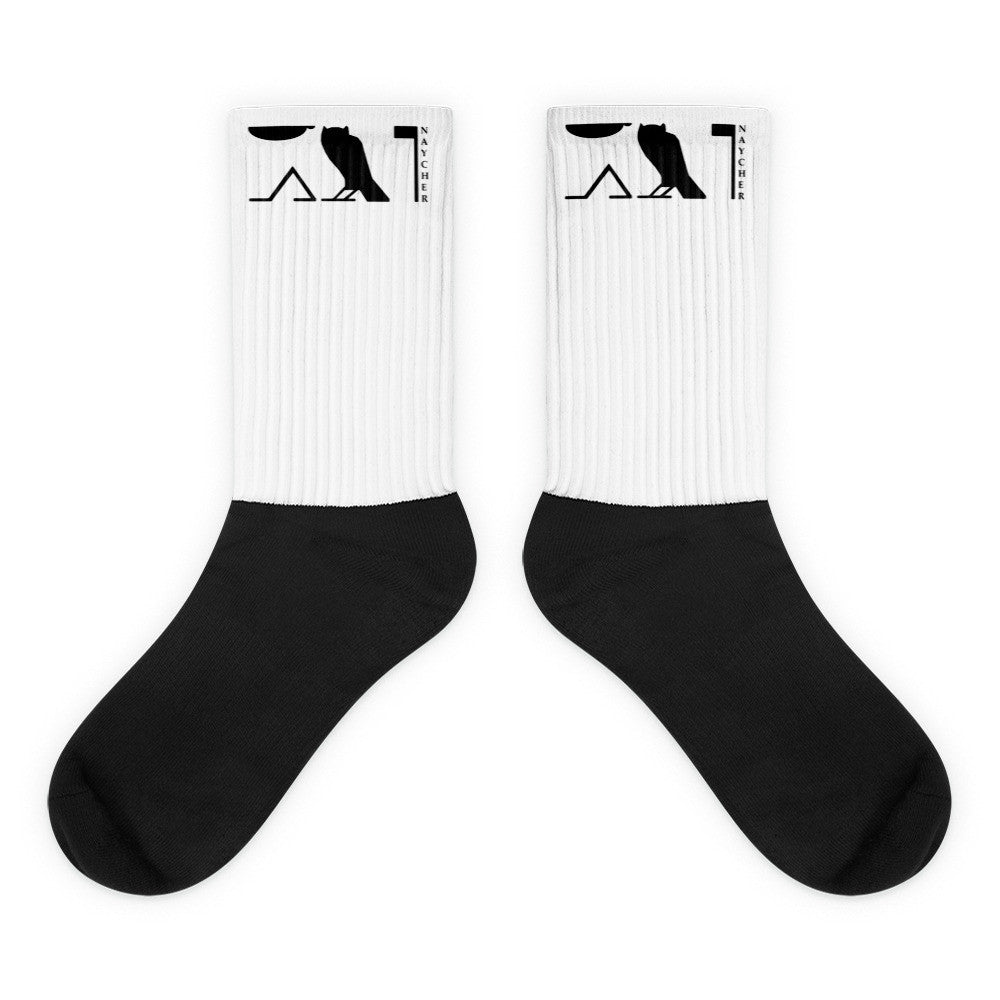 Naycher Black foot socks