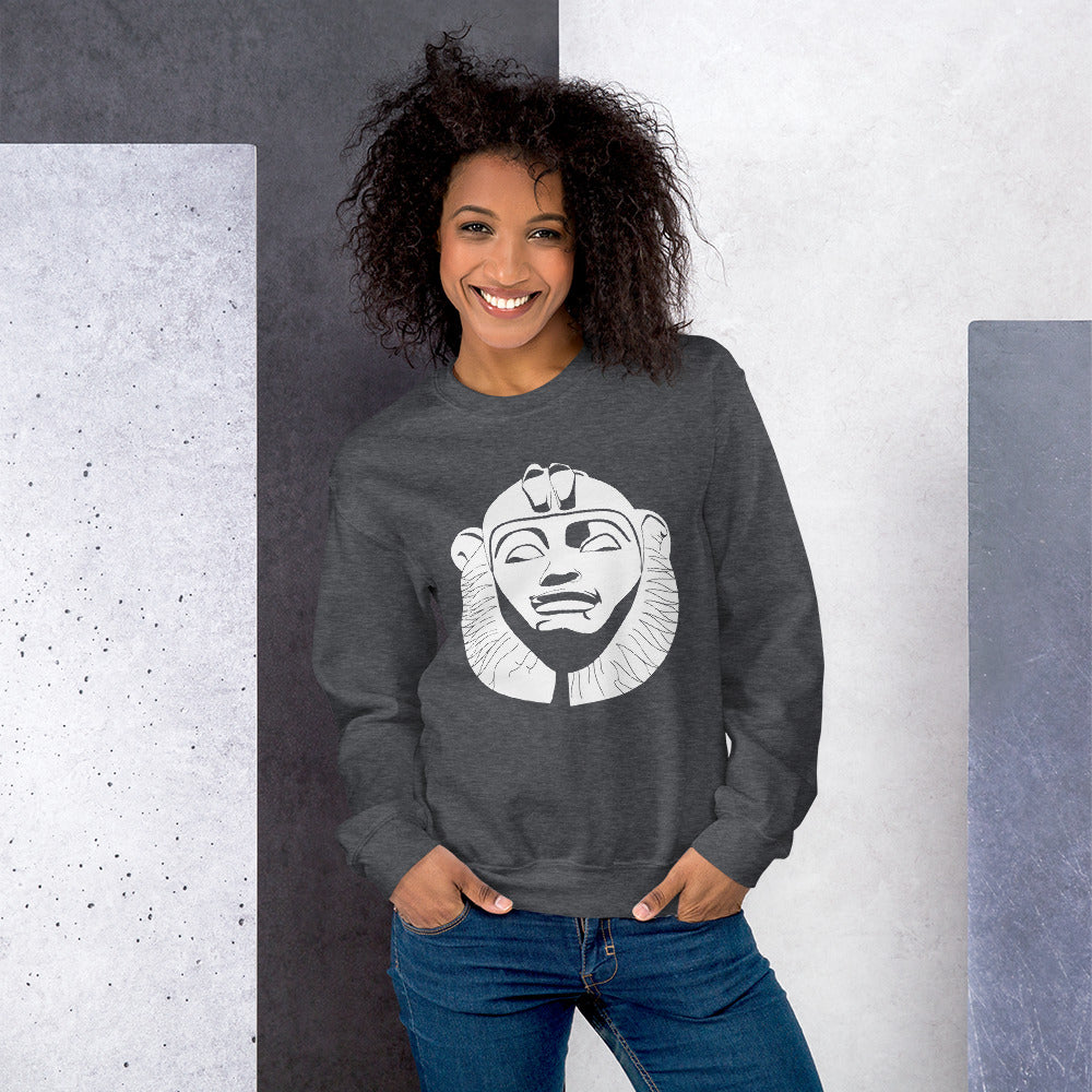 Taharqa Grey Sweatshirt