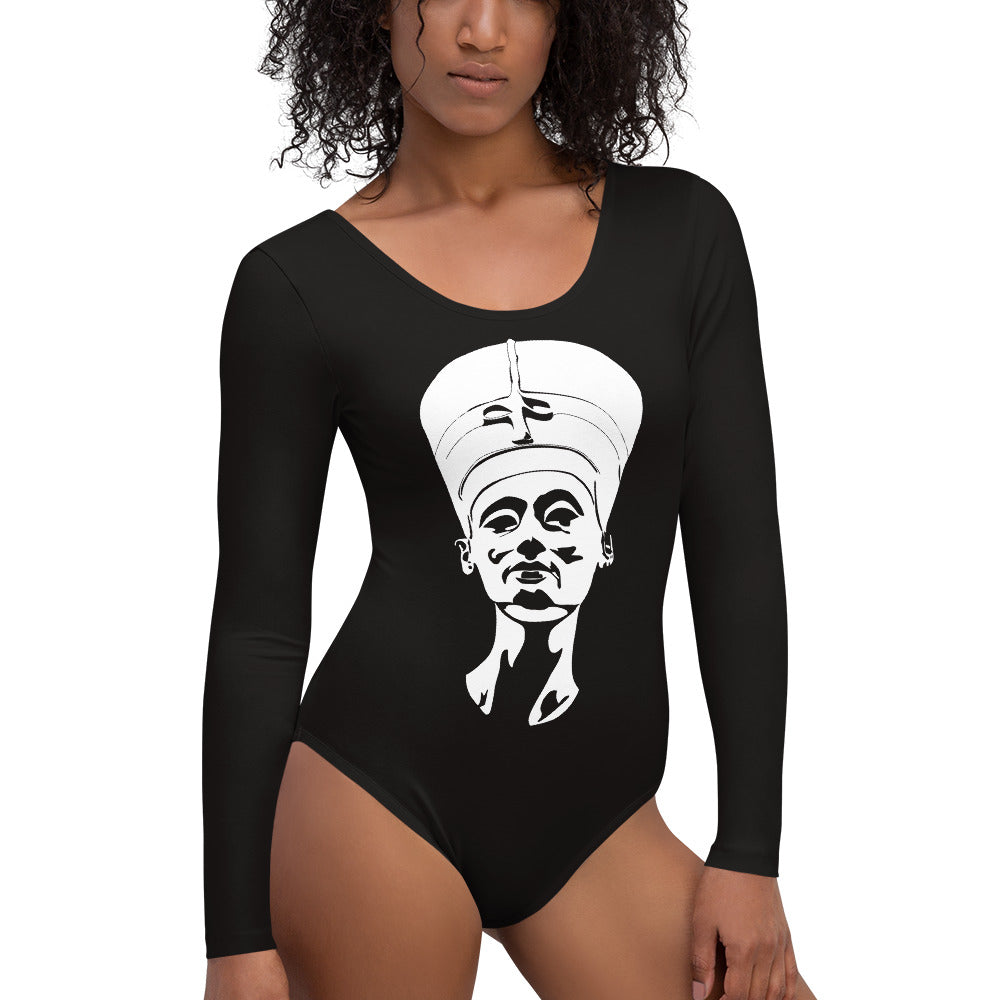 Nefertiti Long Sleeve Bodysuit