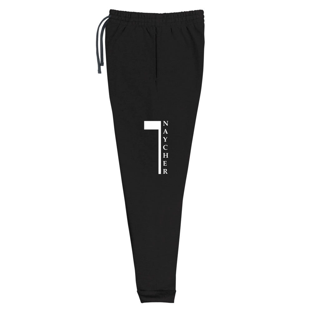 Naycher Black Joggers