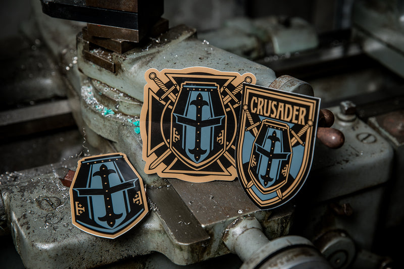 Crusader Sticker Pack