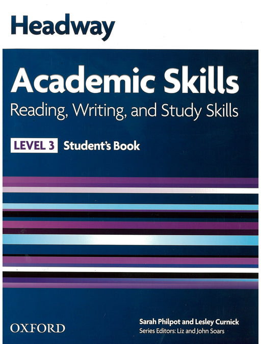 Headway Academic Skills Level 3 Reading, Writing, and Study Skills Student's Book