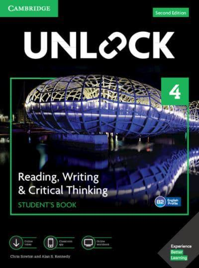 Unlock Level 4 Reading, Writing, & Critical Thinking Student's Book - 2nd Edition