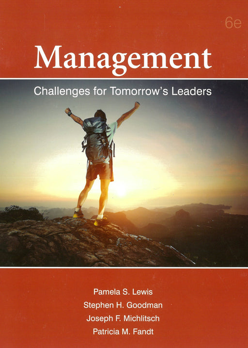 Management Challenges for Tomorrow Leaders (6 Edition)