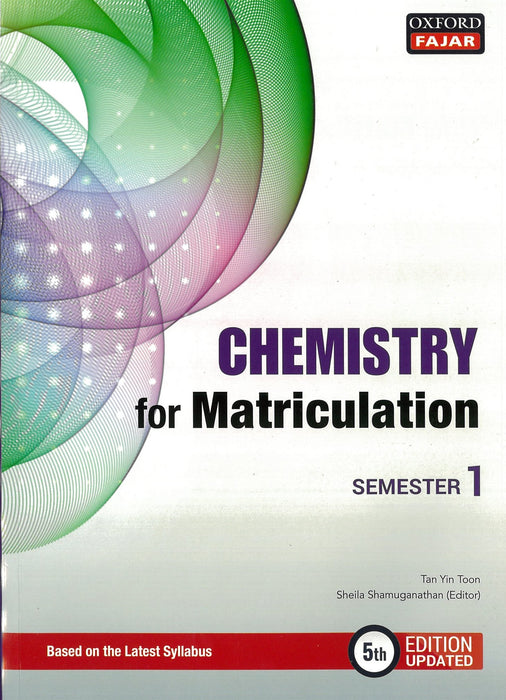 Chemistry for Matriculation Sem 1 (Fifth Edition Updated)