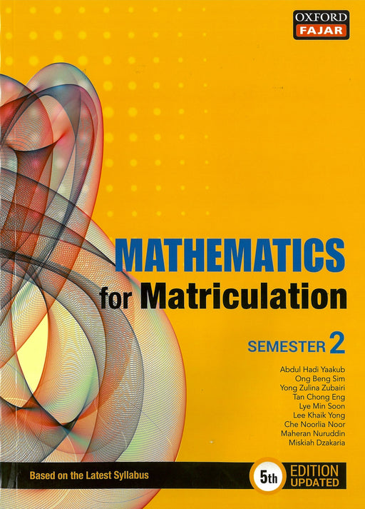 Mathematics for Matriculation Semester 2 (5th Edition Updated)