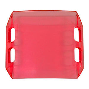 "Red 4"" Dual Row LED Bar Cover (Covers 6 LED's)"
