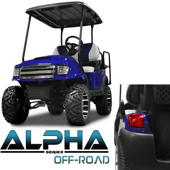 Blue Alpha (PREC) Body Kit w/ Off-Road Grill & Light Kit