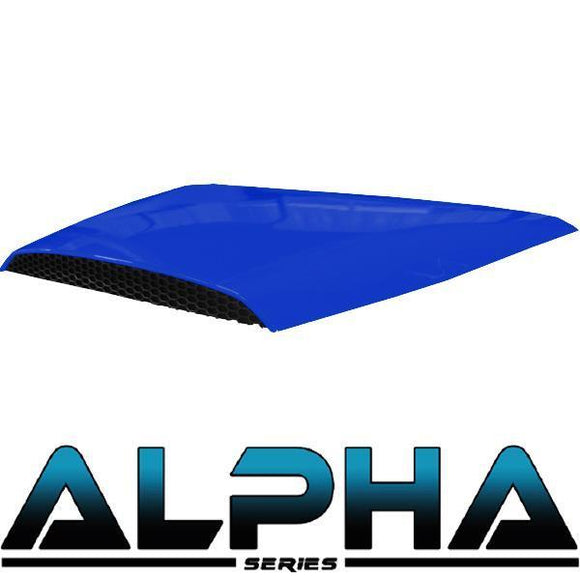 Blue Alpha Series Hood Scoop for Precedent