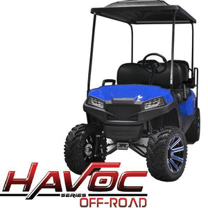 Blue Havoc (DR) Front Cowl w/ Off-Road Fascia & Headlights