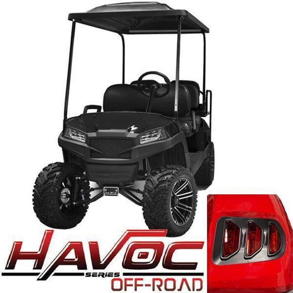 Black Havoc (DR) Body Kit w/ Off-Road Fascia & Light Kit