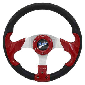 Razor2 Style Steering Wheel (Red)