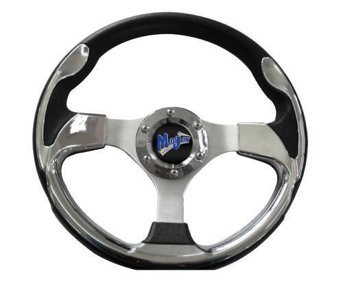 Ultra2 Style Steering Wheel (Chrome)