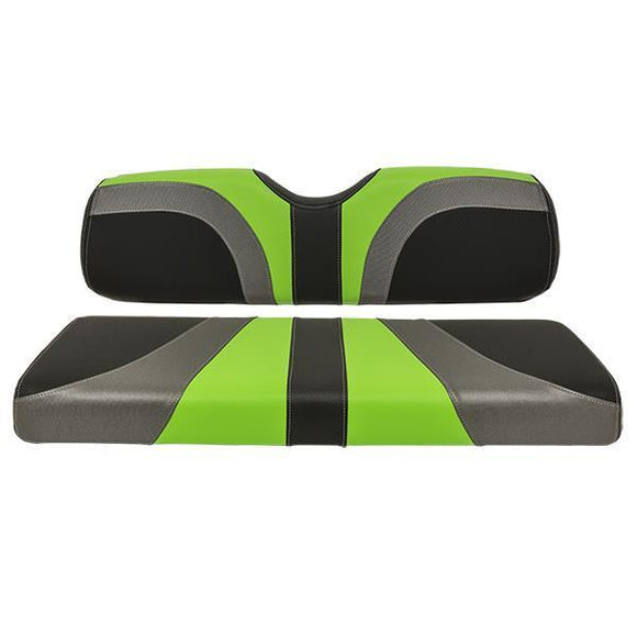BLADE REAR SEAT ASSEMBLY, G150, CFBLK, CHARCOAL, LIME GREEN