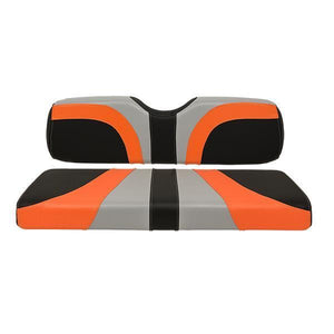 BLADE REAR SEAT ASSEMBLY, G150, CFBLK, ORANGE TREXX, GRAY