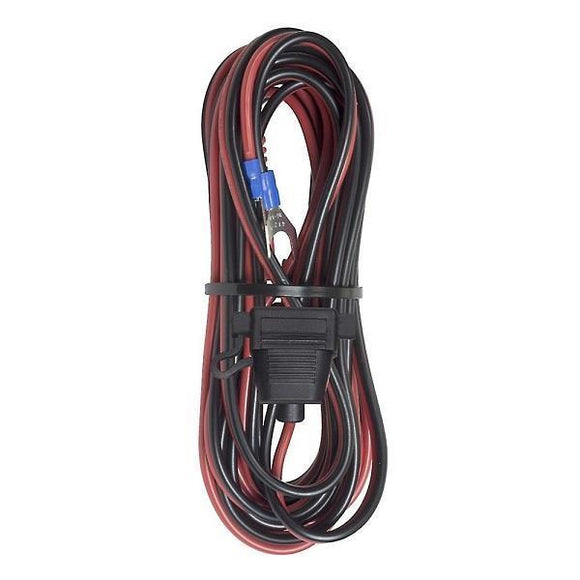 Bazooka 12' Power Cord with Fuse Holder*