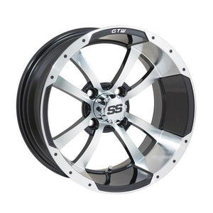GTW Storm Trooper 14x7 Machined Black Wheel