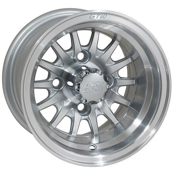 GTW Medusa 10x7 Machined Silver Wheel