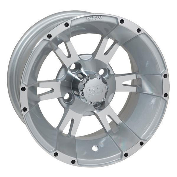 GTW Yellow Jacket 12x7 Machined Silver Wheel