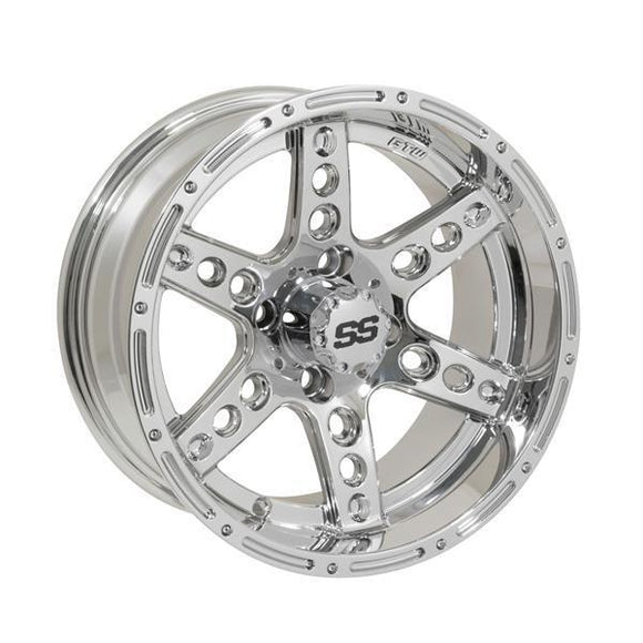 GTW Dominator 14x7 Chrome Wheel