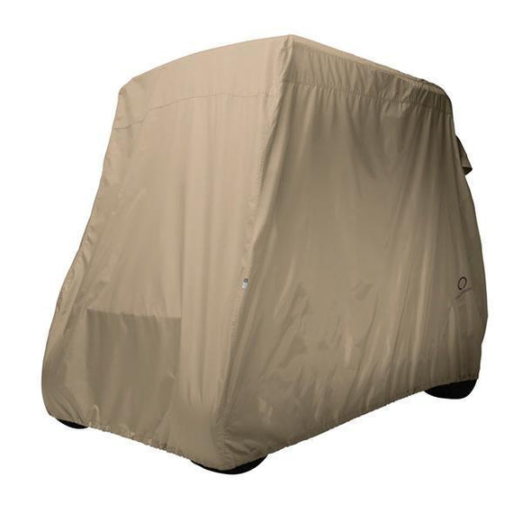 Golf car cover, short roof, two-person cars, Light Khaki