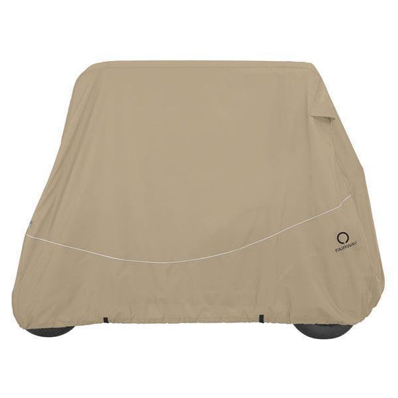 Golf car quick-fit cover for conversion kits, short roof, tw