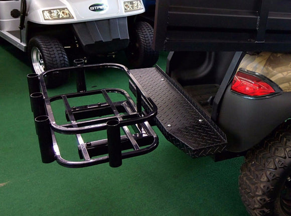 Golf Cart Cooler & Rod Holder Hitch mount