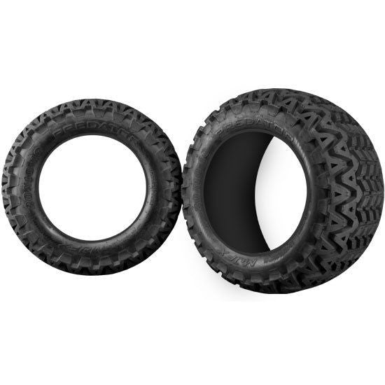 set of 4 Madjax 20x10-10  Club Car EZGO Yamaha Golf Cart Tire ALL TERRAIN MJFX