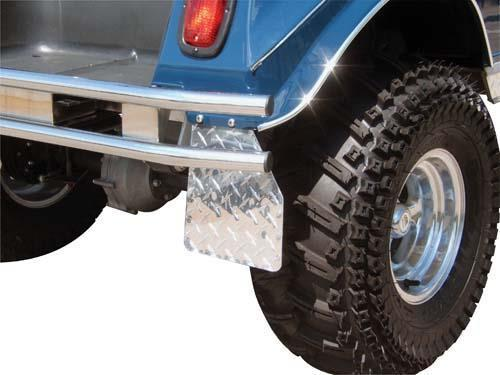 Mud Guards Diamond Plate Club Car DS 1982-Present