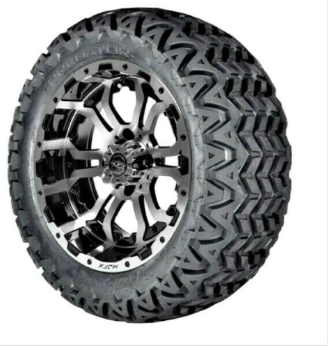 14 inch Omega Wheel mounted on 23 inch Predator All Terrain w/ lugs