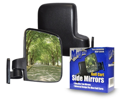 Side mirrors for your Golf cart