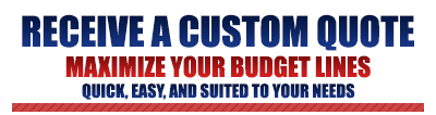 Receive a Custom Quote
