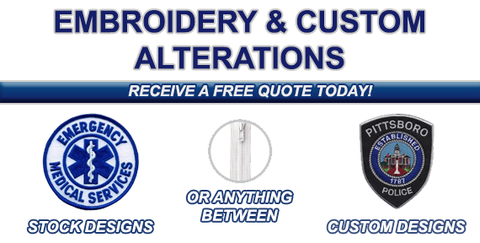 Embroidery and Custom Alterations