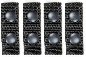 "Ballistic Keepers for 2-1/4"" Belt (7/8 x 7-1/8""), 4 Pack"