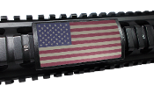 Custom Gun Rails Old Glory, Large PERMODIZE® (PMA) Picatinny Rail Cover