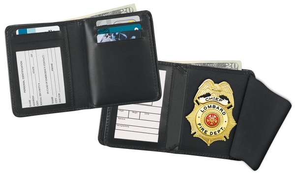 Blackinton 233 Deluxe Hidden Badge Wallet with Single ID Holder
