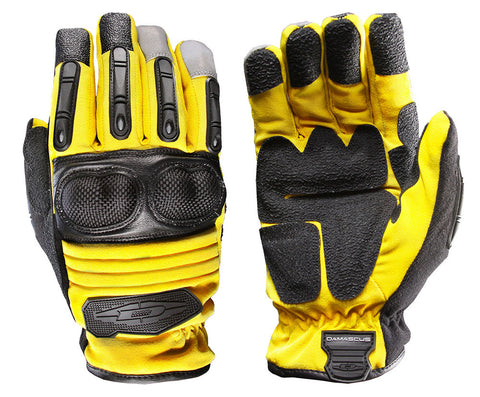 Damascus Extrication and Rescue Glove - Yellow