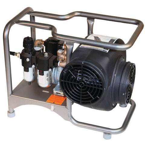 "Air Systems SVB-A8CUP 8"" Pneumatic Air Powered Centrifugal Ventilation Blower Kit"