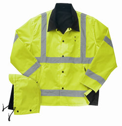 Liberty Uniform ANSI Class III Reversible Rain Jacket