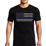 Men's T-Shirt – Classic Thin Blue Line