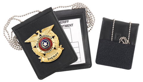 Blackinton 600 Recessed Badge and ID Neck Holder