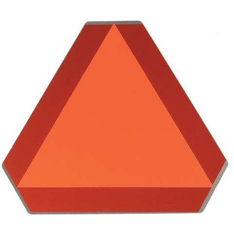 Slow Moving Vehicle Triangle Decal