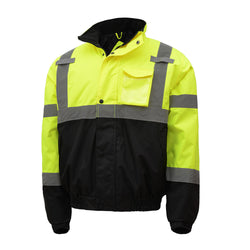 GSS Safety Class 3 Waterproof Quilted Bomber Jacket