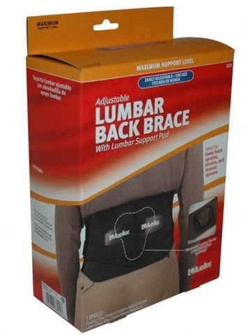 Mueller Adjustable Back Brace w/ Lumbar Pad