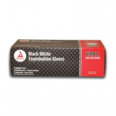 Black Nitrile Gloves Powder Free - Dynarex (100/box)
